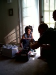 The first coffee ceremony we had in 2010.